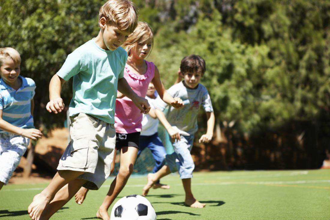 Польза занятий спортом для детей